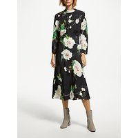 Finery Sara Flared Floral Midi Dress, Multi Floral
