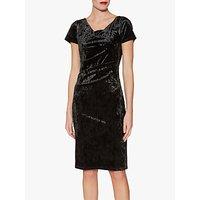 shop for Gina Bacconi Sigrid Velvet Dress at Shopo