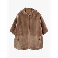 Gerard Darel Moina Sheepskin Fur Coat