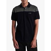 Barbour International Curve Polo Shirt, Black