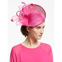 John Lewis & Partners Jess Up Turn Swirl Disc Occasion Hat