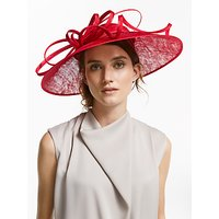 John Lewis & Partners Harper Down Brim Disc Occasion Hat