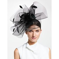 John Lewis & Partners Jasmine Feather Mesh Fascinator