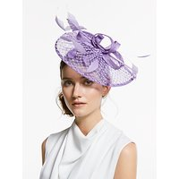 Snoxells Diamante Teardrop and Loops Fascinator