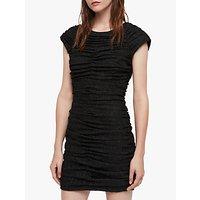 Allsaints Riff Dress, Black