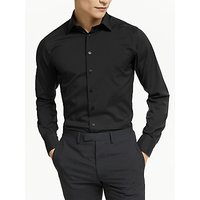 Smyth and Gibson Stretch Cotton Poplin Slim Fit Shirt