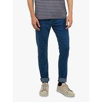 Ted Baker Talma Tapered Jeans, Blue Denim