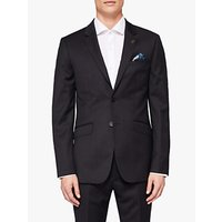 Ted Baker Timzon Wool Tailored Suit Jacket, Black