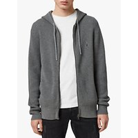 shop for AllSaints Wells Textured Hoodie at Shopo