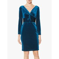shop for Gina Bacconi Spencer Knot Mini Dress at Shopo