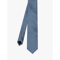 Ted Baker Medallion Silk Tie, Blue