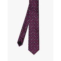 Ted Baker Cushion Floral Silk Tie, Purple