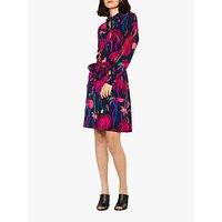 PS Paul Smith Urban Jungle Dress, Navy/Multi