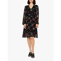 PS Paul Smith Ring Box Print Dress, Black/Multi