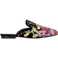 Carvela Lila Embroidered Mule Loafers, Multi
