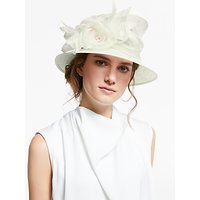 John Lewis & Partners Lou Side Up Disc Rose Ornament Occasion Hat