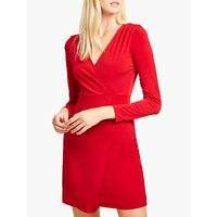 shop for French Connection Slinky Long Sleeve Wrap Dress at Shopo
