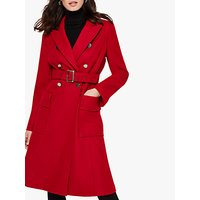 Damsel in a Dress Roxi Belted Coat, Red