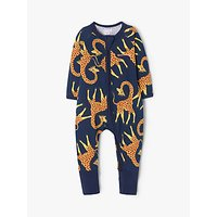 Bonds Baby Jelly Giraffe Print Wondersuit, Navy
