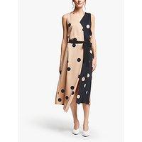 Marella Elfo Spot Print Dress, Powder