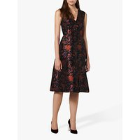 L.K.Bennett Delysia Dress, Red/Black
