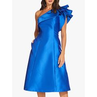Adrianna Papell Short Mikado Dress, Yves Blue