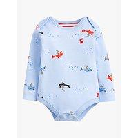 Baby Joule Snazzy Sky Bodysuit, Blue