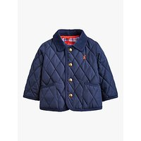 Baby Joule Milford Quilted Jacket, Navy