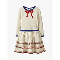 Mini Boden Girls' Knitted Party Dress, Ecru