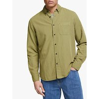 JOHN LEWIS and Co. Carson Overdyed Cotton Linen Slub Shirt