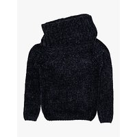Polarn O. Pyret Children's Chenille Knitted Jumper, Blue