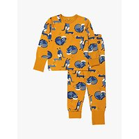Polarn O. Pyret Baby Dragon Pyjamas, Yellow