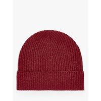 Brora Rib Knit Cashmere Hat