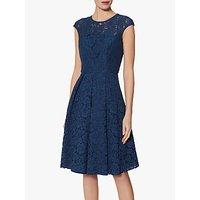 Gina Bacconi Patsey Lace Dress, Navy