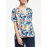 Collection WEEKEND by John Lewis Albi Vintage Blooms Floral Top, Multi
