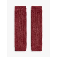 Brora Cable Knit Cashmere Wrist Warmers