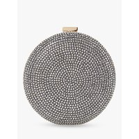 Dune Beautey Jewelled Circle Clutch Bag