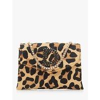 Dune Ejessie Leopard Print Evening Bag
