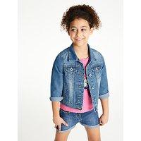 John Lewis & Partners Girls' Denim Jacket, Blue