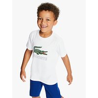 Lacoste Boys Logo T-Shirt, White