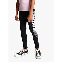 PUMA Children's Style Graphic Sports Leggings, Black