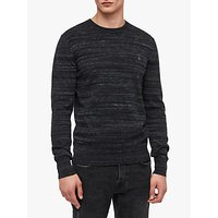 AllSaints Marlo Crew Neck Jumper, Ink Navy Marl