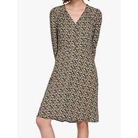 Ghost Gwen Floral Print Crepe Dress, Meadow Ditsy
