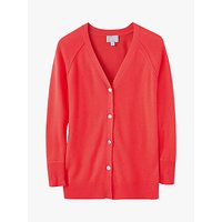 Pure Collection Toccato Cardigan, Coral