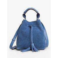Gerard Darel Mini Saxo Tote Bag, Blue