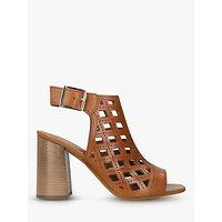 shop for Carvela Arc Laser Cut Block Heel Sandals at Shopo
