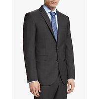John Lewis and Partners Washable Tailored Suit Jacket, Silver Grey