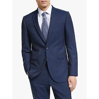John Lewis and Partners Washable Tailored Suit Jacket, Navy