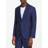 Tiger of Sweden Linen Slim Fit Suit Jacket, Light Ink
