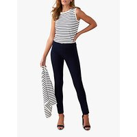 Pure Collection Cotton Stretch Trousers